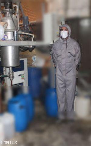 لباس ضد اسیدتنفس پذیر B241